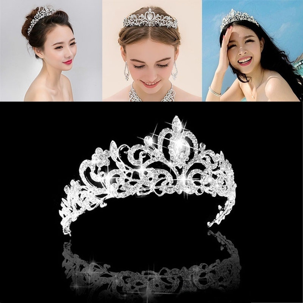 womenheadband, hairtiara, Princess, pearls