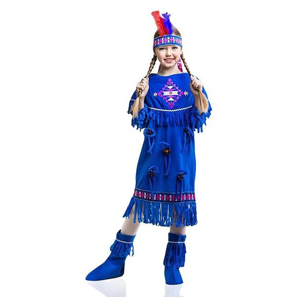 Halloween Costumes For Kids Girls 11 And Up.Kids Indian Girl Halloween Costume Sacagawea Apache Cherokee Dress Up Role Play 8 11 Years
