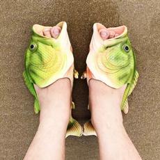 couplesslipper, childrencuteshoe, Sandals, fishsandalshoe