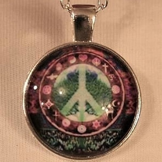 Wish Violet Green Coexist All Religions Save The Earth Peace