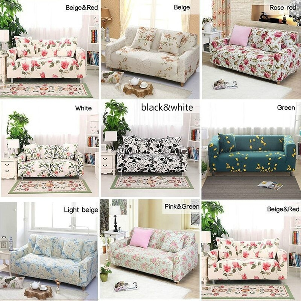 Excellent 9 Colors Arm Chair Two Seater Love Seat Sofa Cover Slipcover Stretch Lounge Couch Protector Navy Home Textile Decoration Gmtry Best Dining Table And Chair Ideas Images Gmtryco