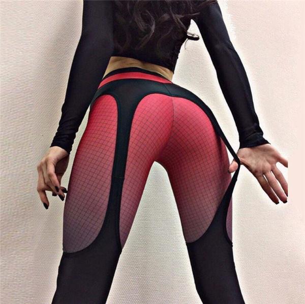 gymfitne, Leggings, Fashion, gridprint
