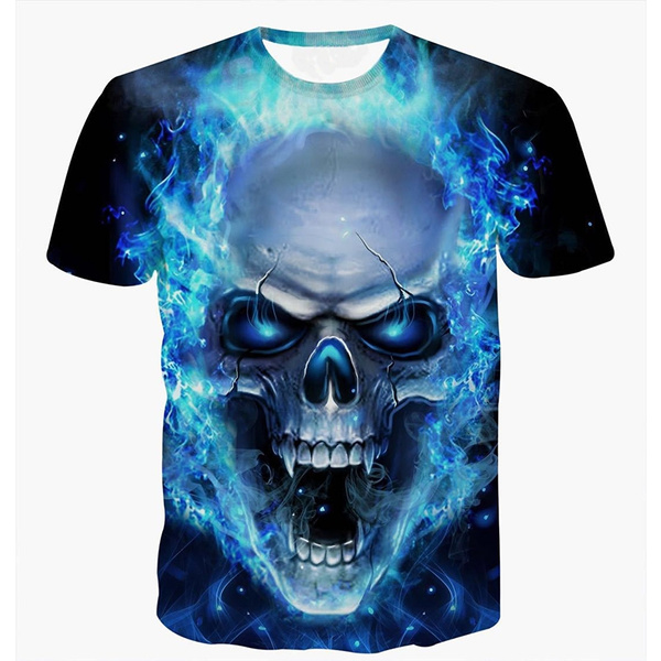 Fashion, Shirt, skull, Men's Fashion