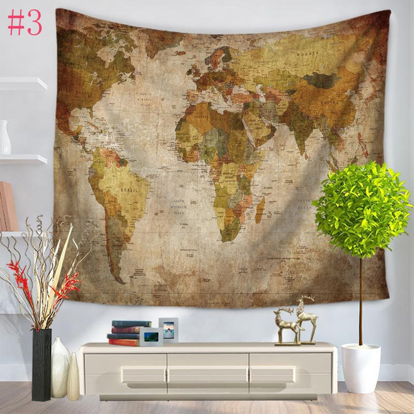 Wish 59x51 wall tapestry home decor living hanging wall art wish 59x51 wall tapestry home decor living hanging wall art yoga mat beach towels vintage world map printing tapestry gumiabroncs Choice Image