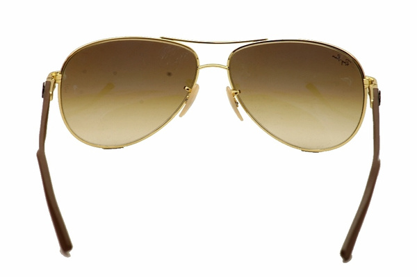 5c393be0900 ... top quality wish ray ban tech rb8313 rb 8313 001 51 gold brown rayban  aviator sunglasses