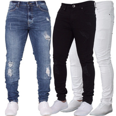 Blues, ripped, trousers, pants