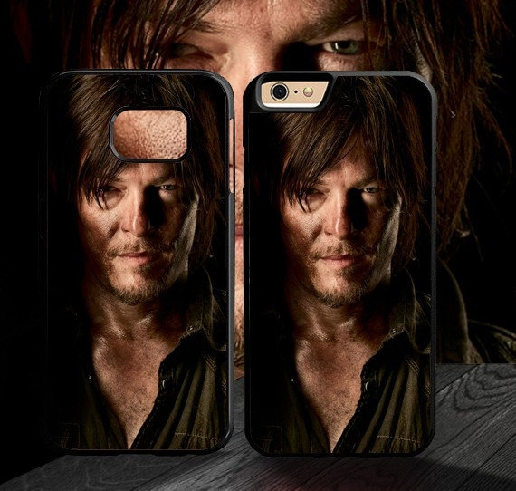 Daryl Dixon The Walking Dead cell phone cover for iPhone SE 4 5 6 7 8 Plus  X protective case for Samsung Galaxy