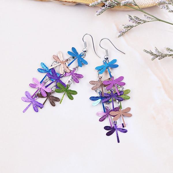 dragon fly, Fashion, Dangle Earring, Jewelry