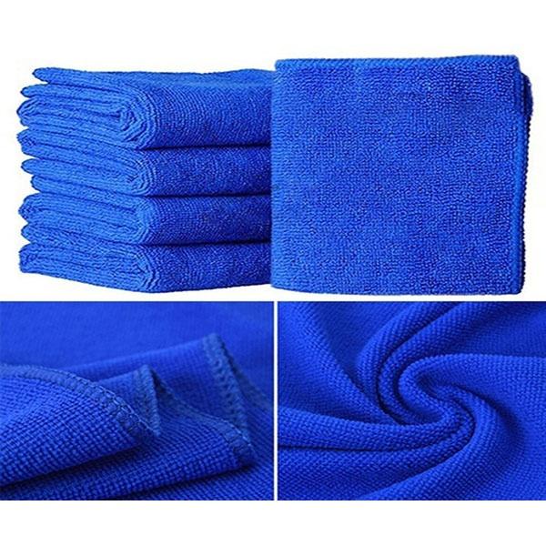 5 шт. / набор мягкого автомобиля микроволокна для мойки полотенец для чистки полотенец