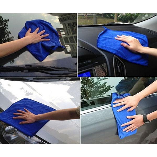 Полотенца 5 шт. / набор мягкого автомобиля микроволокна для мойки полотенец для чистки полотенец (Фото 4)