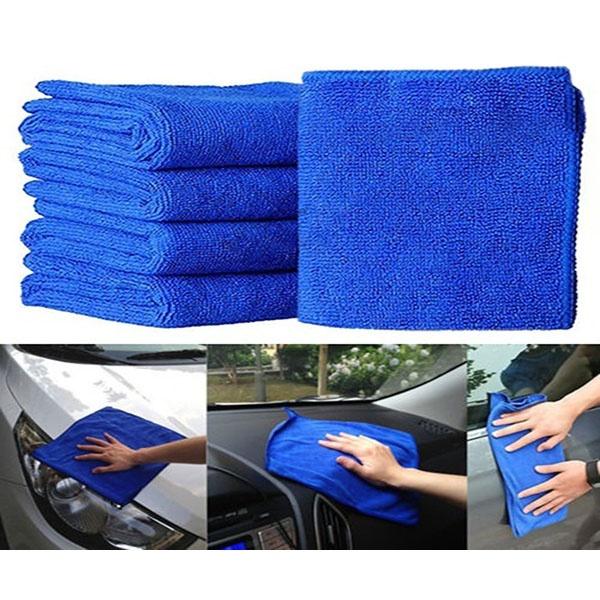 Полотенца 5 шт. / набор мягкого автомобиля микроволокна для мойки полотенец для чистки полотенец (Фото 1)