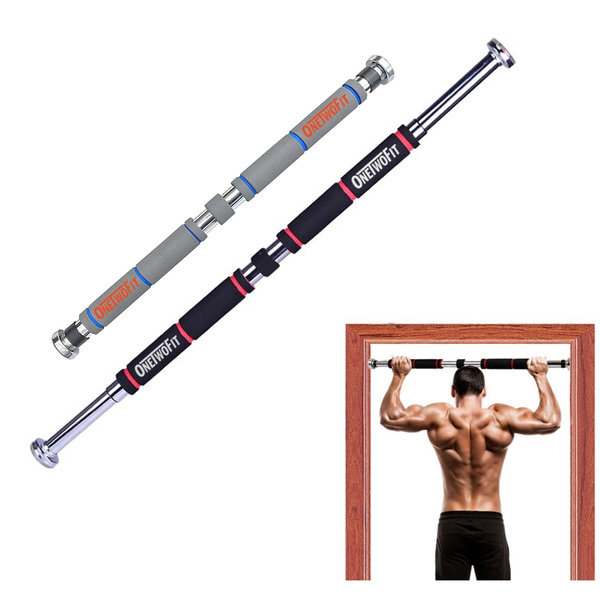 Onetwofit Door Gym Pull Up Bar Doorway Chin Up Bar Household