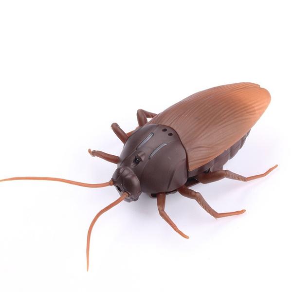 1X Infrared Remote Control Mock Animal Fake Cockroach RC Hexapod Toy JAJA