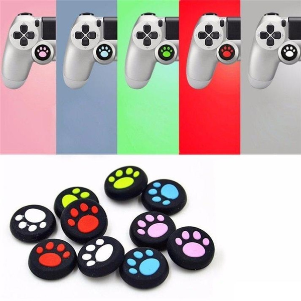 4X Controller Thumb Joystick Caps Controller Game Accessories for PS3 PS4 XBOX