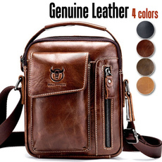 zipperbag, Men, genuine leather bag., business bag