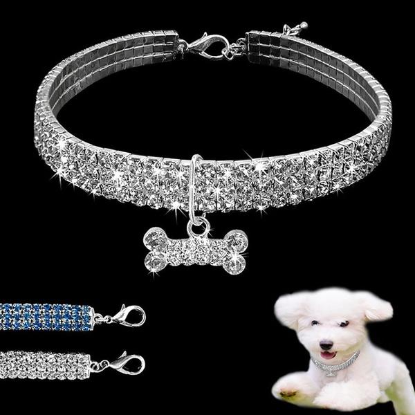 rhinestonecollar, Dog Collar, Jewelry, Rhinestone