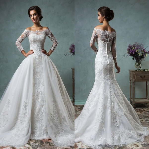 Wish Sexy Mermaid Wedding Dresses