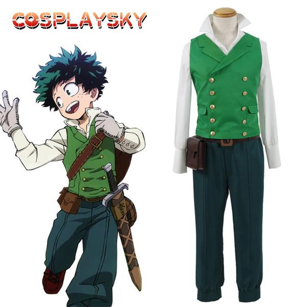 Hot Anime My Hero Academia Cosplay Izuku Midoriya Costumes Deku Cosplay For Adults Halloween Costume School Uniform