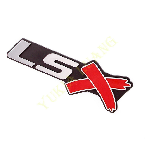 Wish Lsx Symbol Car Abs Side Emblem Body Badge Rear Sticker For