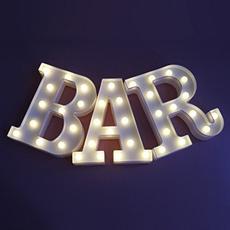 lighted, Bar, led, illuminated