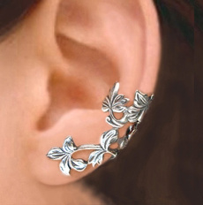 Antique, Sterling, 925 sterling silver, vintage earrings