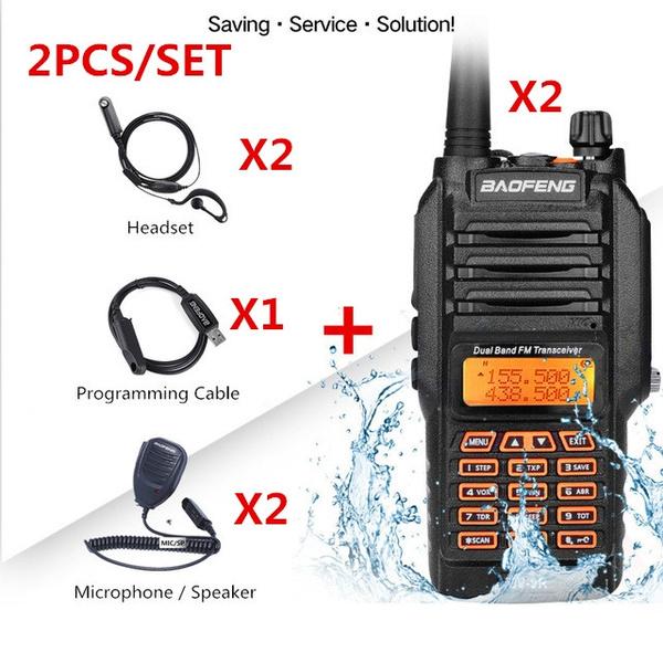walkietalkietransceiver, walkietalkieradio, Waterproof, baofengradio