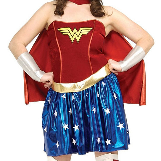 Wish Rubies Costume Co 31304 Wonder Woman Adult Plus Size Plus
