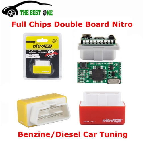 Full Chips OBD2 Car Chip Tuning Box Plug & Drive OBD2 Engine Save Fuel