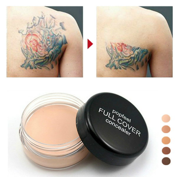 Pro Full Coverage Cream Concealing Foundation Flawless Concealer ...