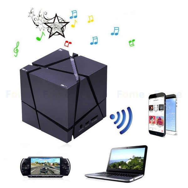 Bluetooth Wireless Speaker Portable Stereo Microphone for Samsung iPhone Laptop