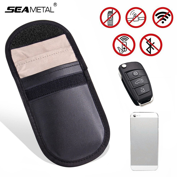 Car Key Signal Blocker Case, Keyless Entry Fob Guard Signal Blocking Pouch  Bag, Antitheft Lock Devices, Healthy Cell Phone Privacy Protection Security
