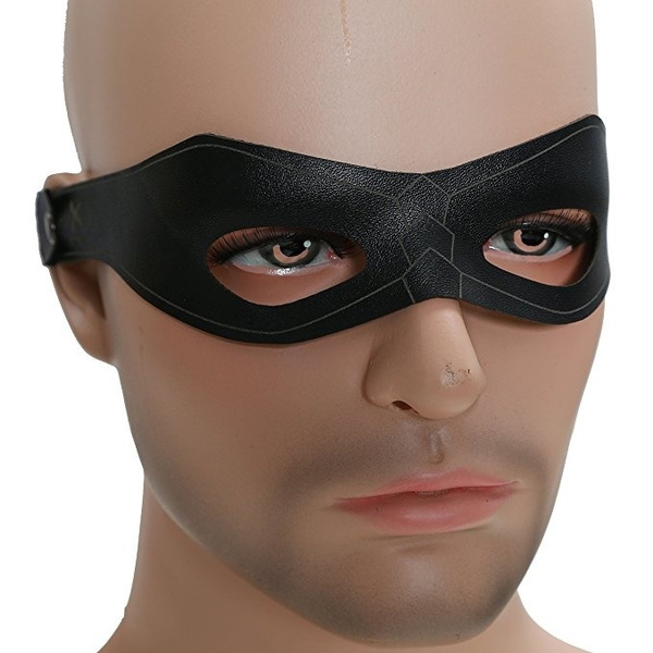 Green Arrow Costume Oliver Queen Cosplay Blinder Mask Halloween Eye Patch