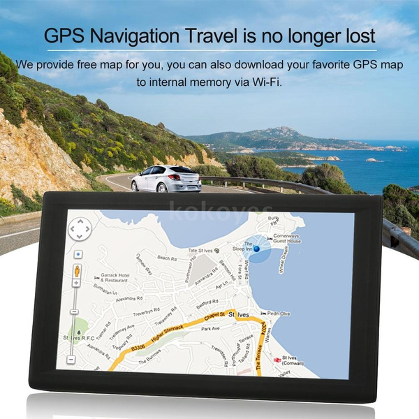 wish kkmoon 9 inch tablet gps navigation android smart system 16gb portable car stereo audio player multimedia entertainment wi fi bt fm usbsd free map