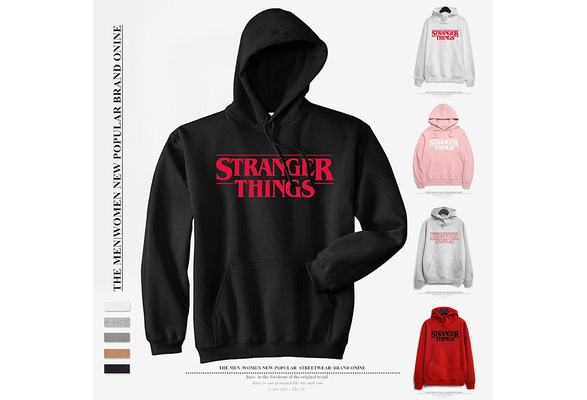 New Stranger Things Printed Women's Hoodie Fashion Winter Autumn Men Women Cotton Hoodies Sweatshirts Tops Pullover Hooded 5 Colors