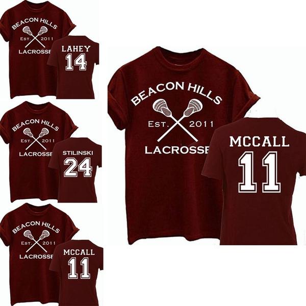 Beacon Hills Lacrosse Hoodie Teen Wolf McCall Stilinski Lahey Sweatshirt Tops