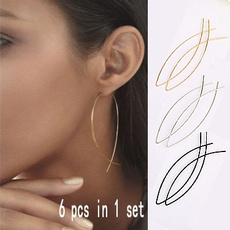 simplestyleearring, Jewelry, gold, Simple