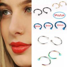 Steel, surgicalsteel, Hoop Earring, Jewelry