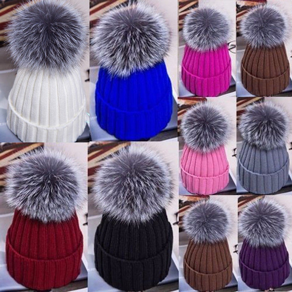 Dog Paw Print Adopt Men /& Womens Knitted Hat Winter Warm Pure Color Hat