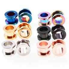 Steel, earletsampfleshtunnel, earplug, Jewelry