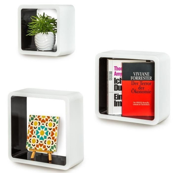 Wall Shelves Decoration Cube Regal Retro Wandregal Bücherregal