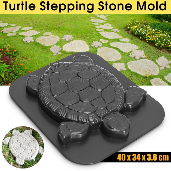 Turtle mold concrete plaster garden mould