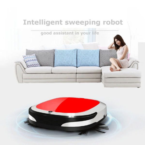 Cordless Auto Smart Robot Vacuum Cleaner Floor Cleaning shining Sweeping Mop