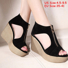 wedge, Sandals, Womens Shoes, Summer