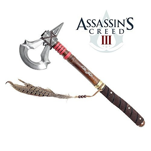 17 5 Battle Axe Of Assassin S Creed 3 Video Game Tomahawk