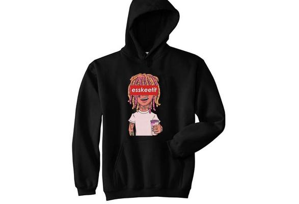 b1deeb43e30 Lil Pump - Esskeetit Box Logo Mens Hoodie Classic Comfortable Men Hooded  Sweatshirt