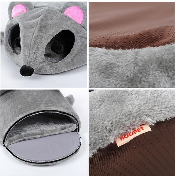 Wish Pet Cats Toy Warming Cat House Soft Material Nest Baskets Fall And Winter Warm Kennel For