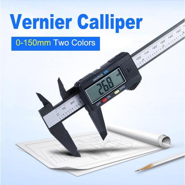 Plastic Digital Measuring Diameter Tools Electronic Digital Vernier Caliper Tool