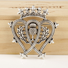 Heart, Pins, outlander, crown