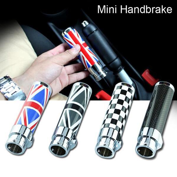 Bmw Mini Cooper Handbrake Cover Clubman R55 R56 Carbon Fiberblack