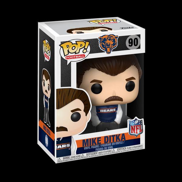NFL ~ MIKE DITKA VINYL FIGURE ~ NFL LEGENDS ~ Chicago Bears Football Funko POP